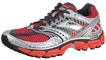 Brooks Glycerin 9 Men's Shoes Tomato/Silver