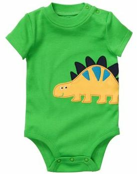 Carters Short Sleeve Graphic Bodysuit