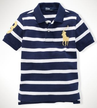 Ralph Lauren Striped Big Pony